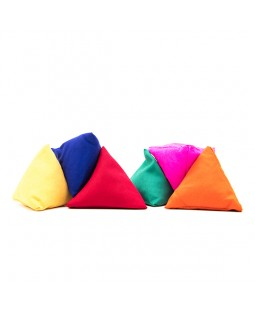 Juggle Dream Tri-it Pyramid Beanbags - Set Of 3