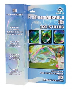 Indy Remarkable Tri-String Bubble Wand