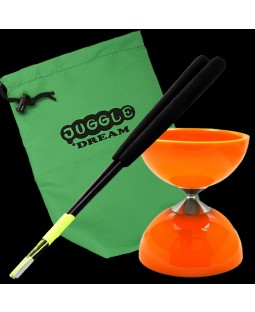 Juggle Dream Twister diabolo, Pro handsticks and Bag