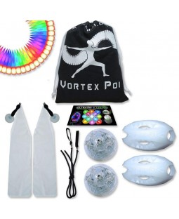UltraPoi - Vortex Poi - Multifunction LED Glow Poi - LED Poi