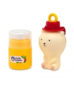 Uncle Bubble Anti-Spill Pal - Bear Shaped Bubble Blower