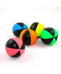 Juggle Dream Pro 6 Panel Star UV Juggling Ball With Black