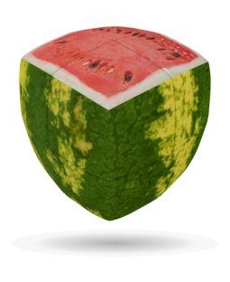 V-Cube 2 x 2 x 2 Watermelon Puzzle Cube - Black Friday Special