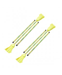 Juggle Dream Picasso Flower Devil Sticks x 2