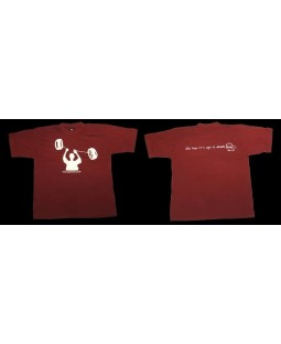 Oddballs T-Shirt - Yoyo - Life has it's ups & downs - Maroon