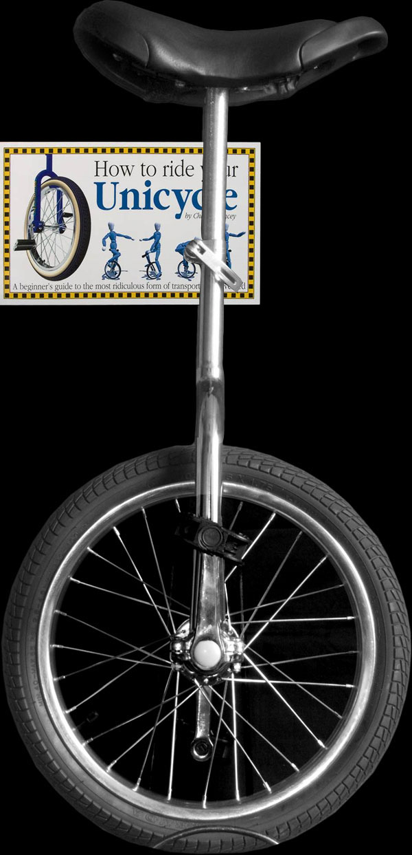 "Indy 16"" Trainer Unicycle and Book Deal"