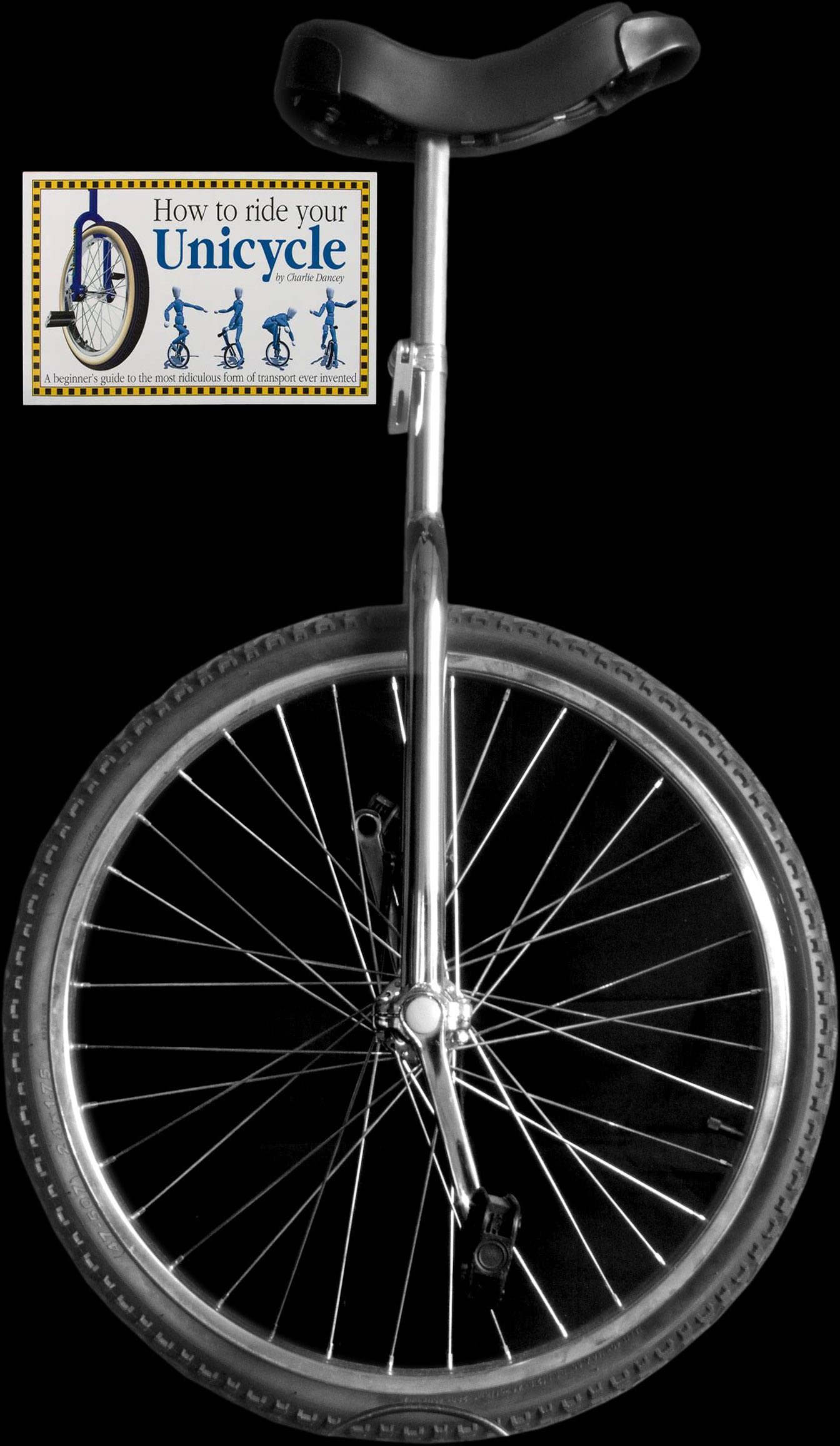 "Standard Indy Trainer 24"" Unicycle and Book deal"