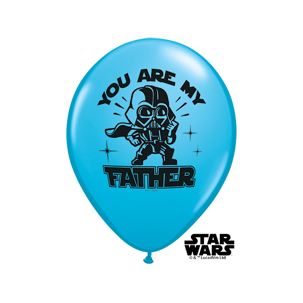 "Qualatex 11"" Star Wars 'Father' Balloons"