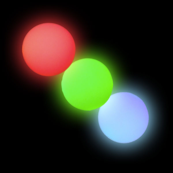 3 x Oddballs LED glow ball