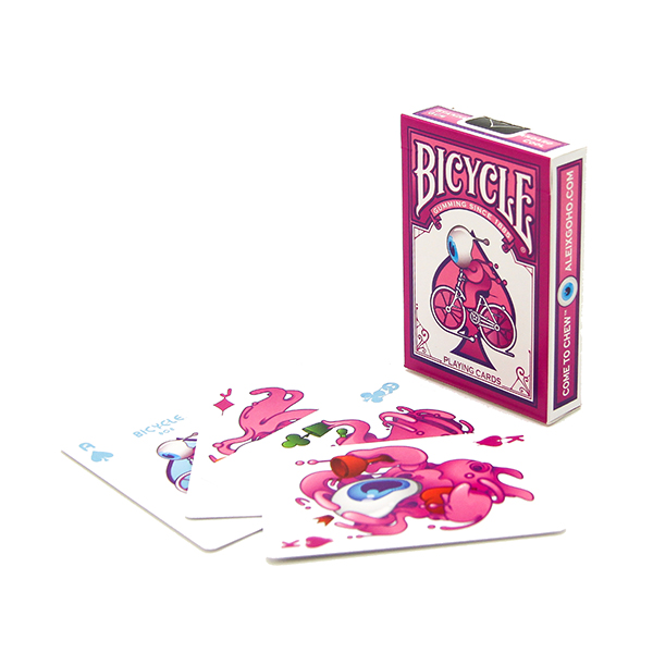 Bicycle BubbleGum Street Art Card Deck