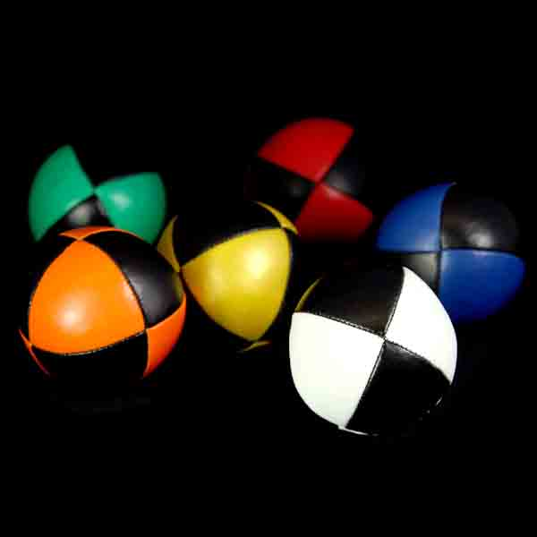 '8 Ball' Juggling Balls with Black