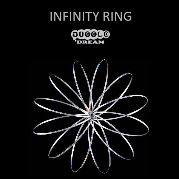 Juggle Dream Infinity Ring