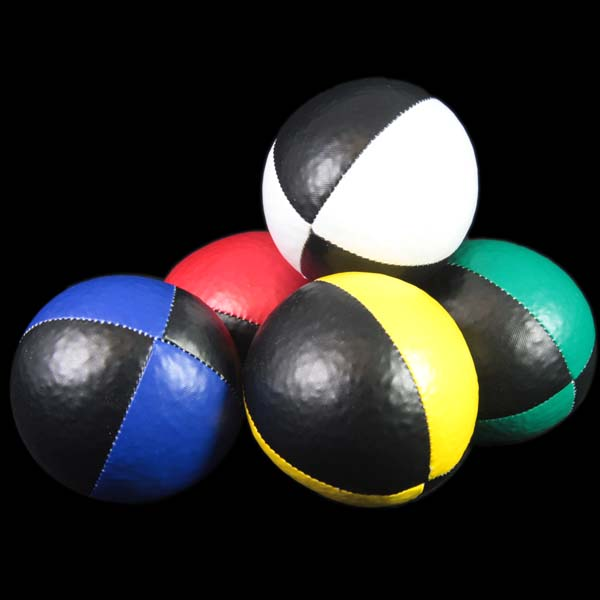 Black / Colours Pro Thud Juggling Ball 120g