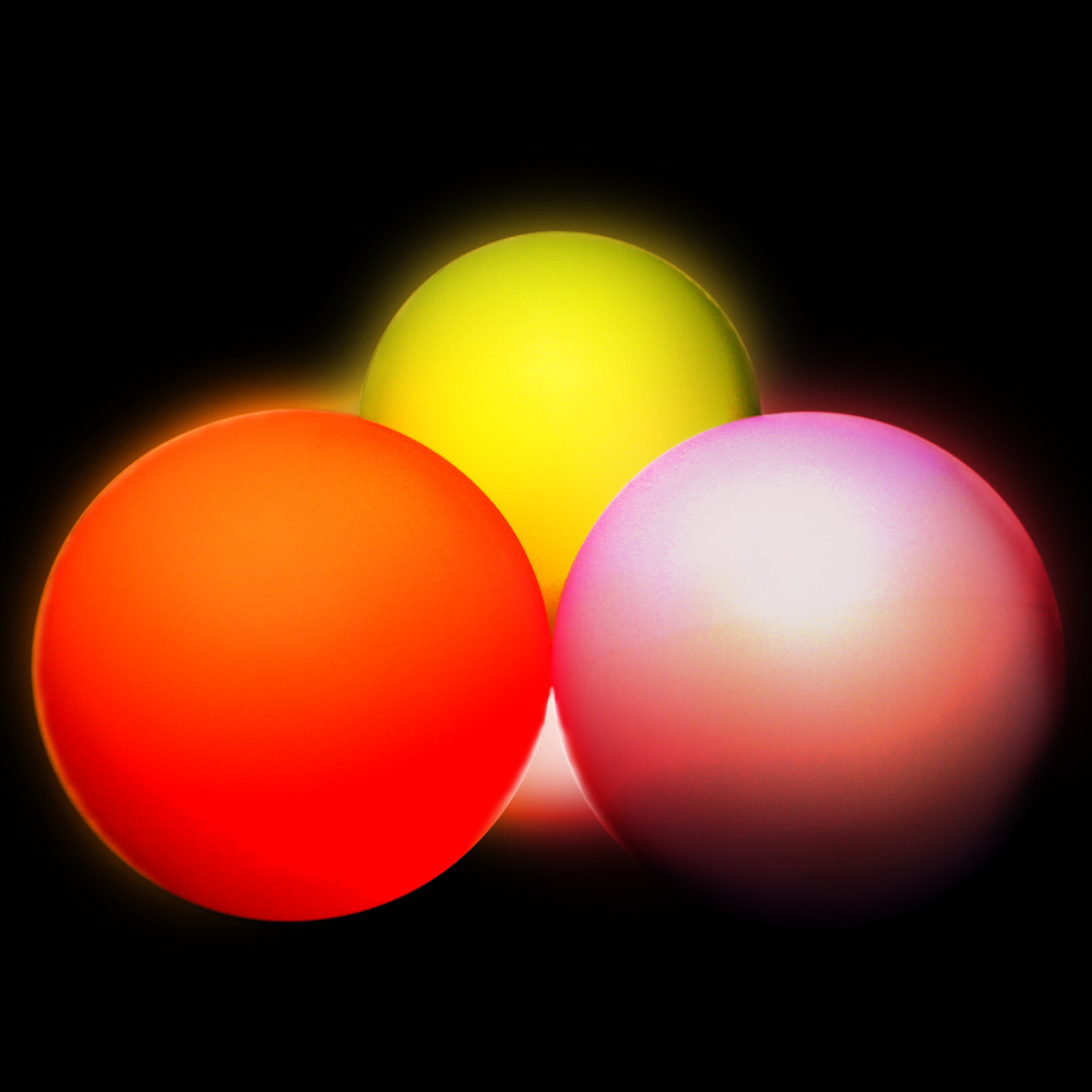 Juggle Light 95mm LED Contact Ball 9 Colours Available