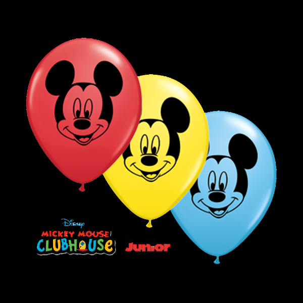 "Qualatex 5"" Mickey Mouse Balloons"