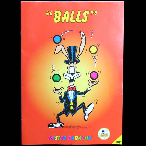 Mr.Babache 'Ball Juggling' Booklet (Juggling Book)