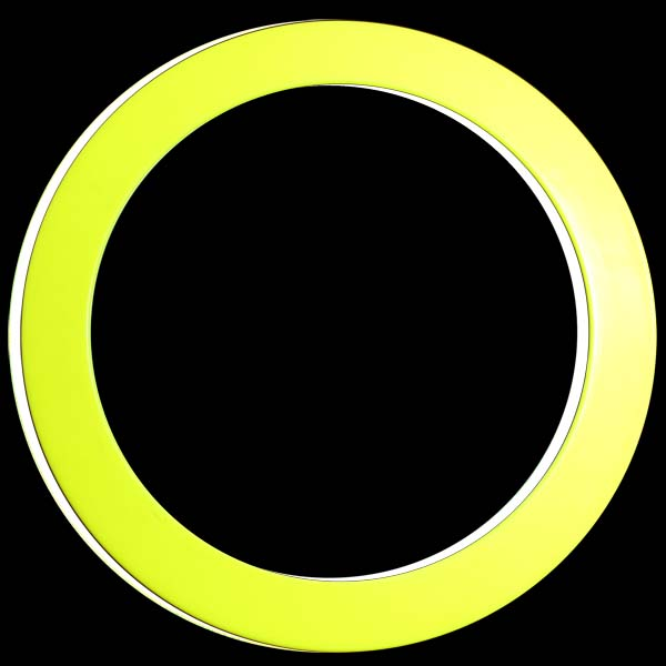Yellow White Play Juggling Ring