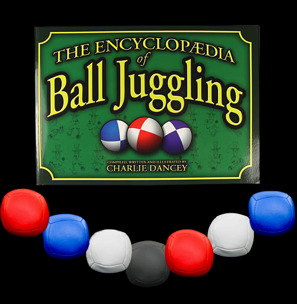 7 x Juggle Dream Pro sport balls and Ball Encyclopaedia