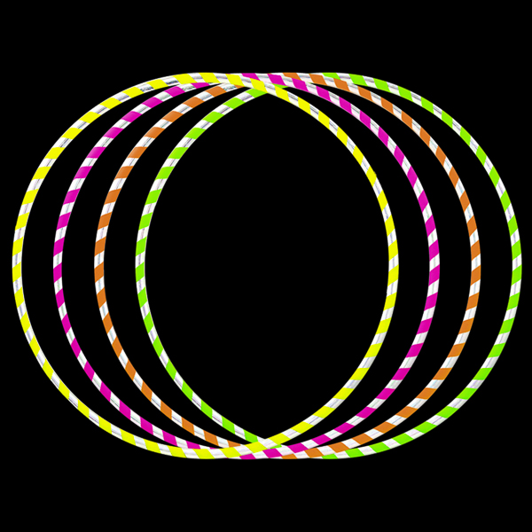 Juggle Dream One Piece Hula Hoops