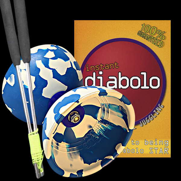 Super Starter Diabolo Pack with Jester Diabolo, Ali Dreams and a DVD