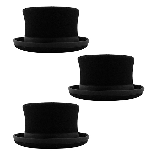 3 X Juggle Dream Top Hats