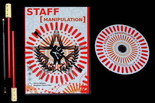 Concentrate 3 part fire staff d2 + Staff Manipulation DVD