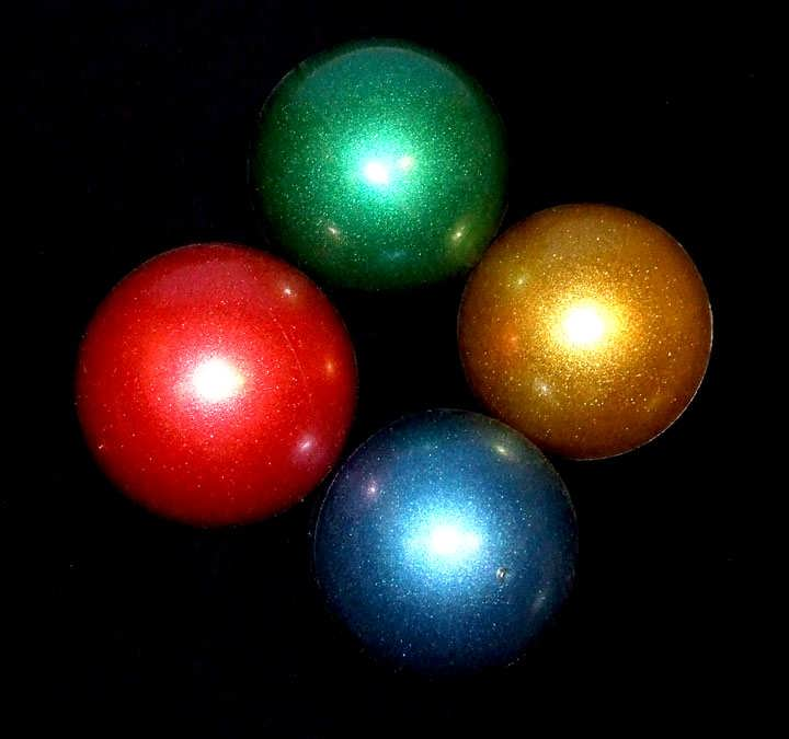 Oddballs Spinning Ball - Glitter Colours