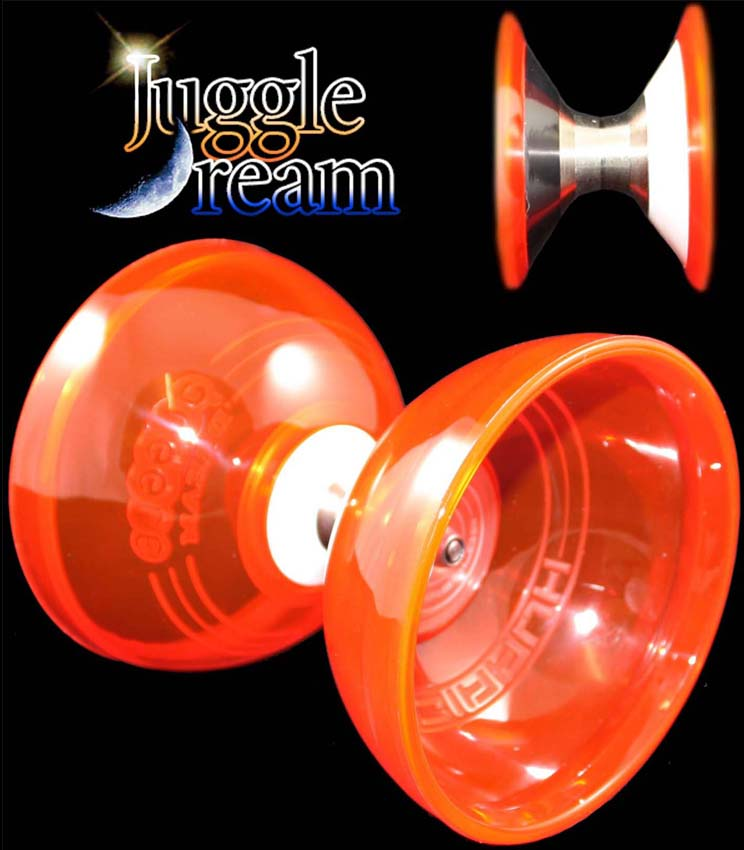 Juggle Dream Jumbo Hurricane Triple Bearing Diabolo
