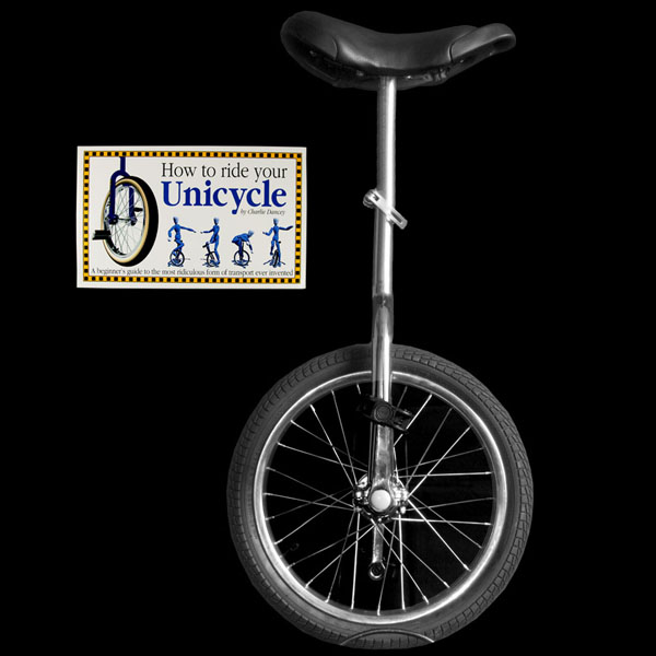 "Indy Trainer 20"" Unicycle and Book Deal"