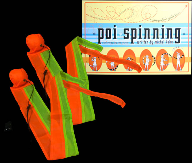 Oddballs Tail Poi and Poi Spinning Book