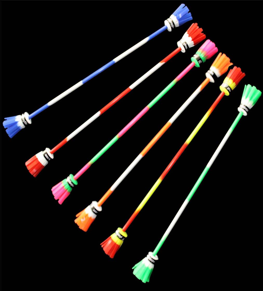 Play Power Flower Stick and Silicon Handsticks