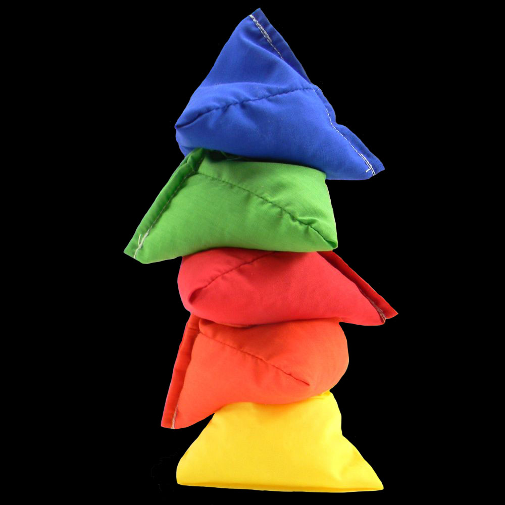 Tri-it Pyramid Beanbags - Welcome To Our Huge Range Of Juggling Balls !