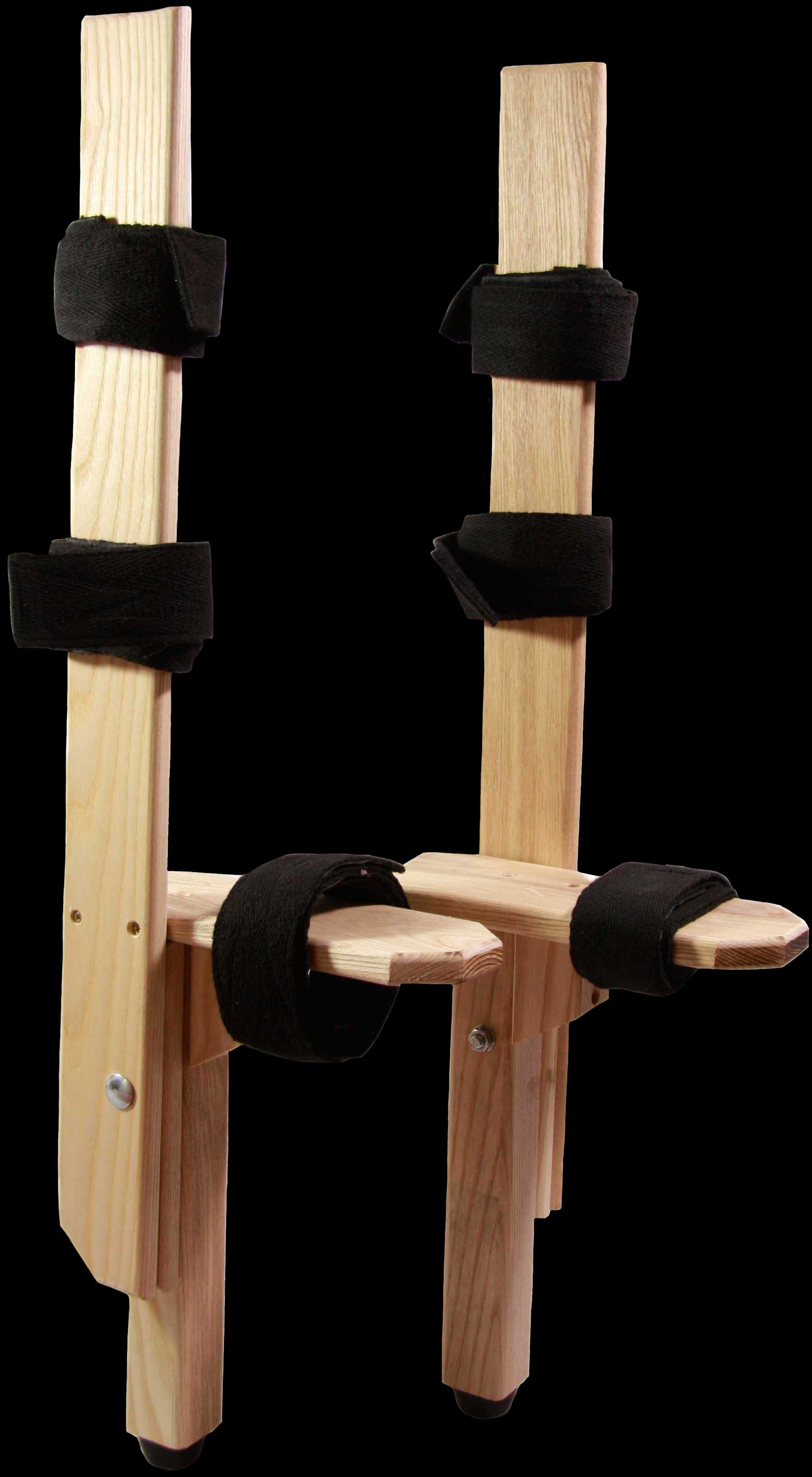 "12"" Ash Underfoot Wooden Peg Stilts"