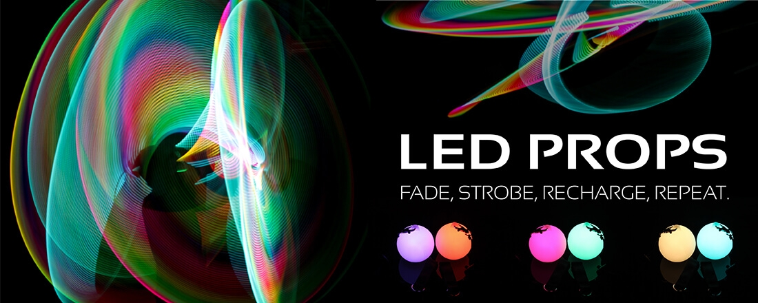 Shine bright with our range of LED props!
