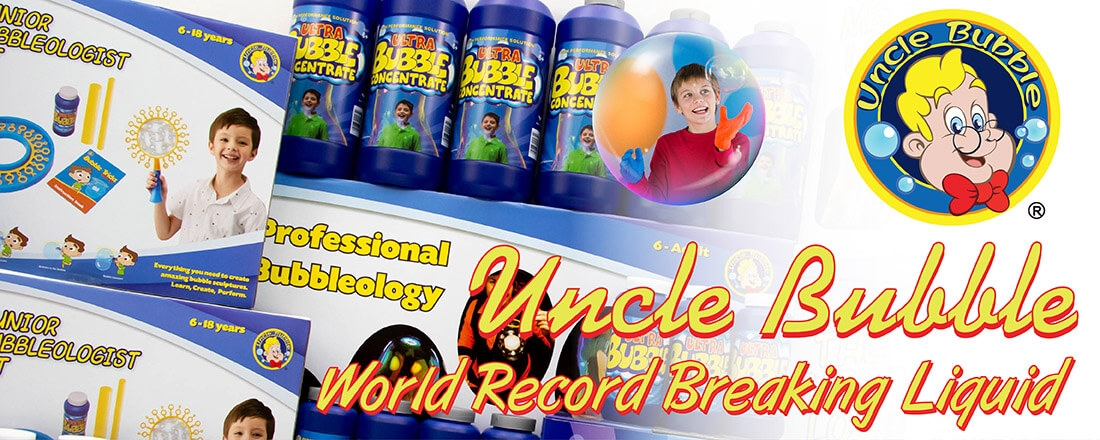 Check out our Uncle Bubble products!